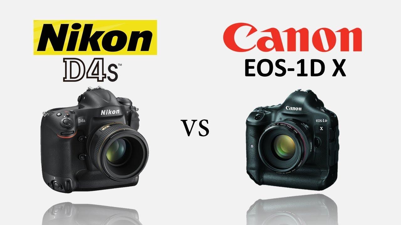 Canon EOS 1DX vs Nikon D4S special comparison of DSLR camera in ...