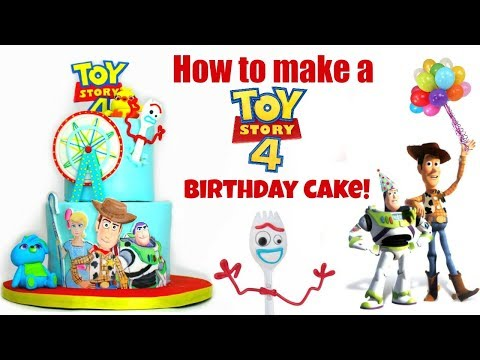 How to make a Toy Story 4 cake!