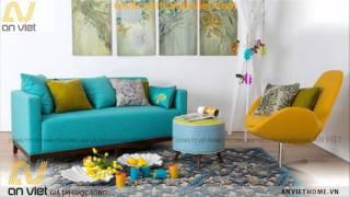15 mẫu sofa nỉ đẹp nhất 2016 - Sofa An Việt