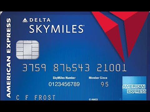 American Express Blue Delta Credit Card Review (Easy AMEX Approval!)