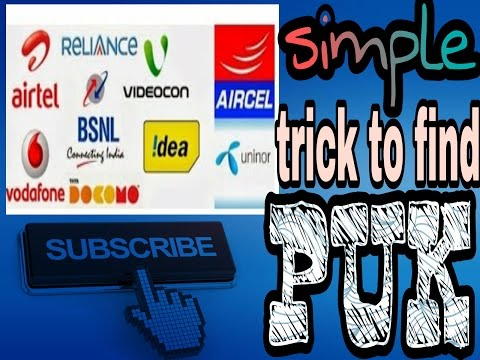 how-to-find-puk-code-for-all-sim-card-in-hindi/english