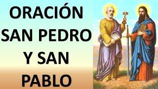 ▶oraciÓn A Los Santos ApÓstoles San Pedro Y San Pablo - Oracion Y Paz