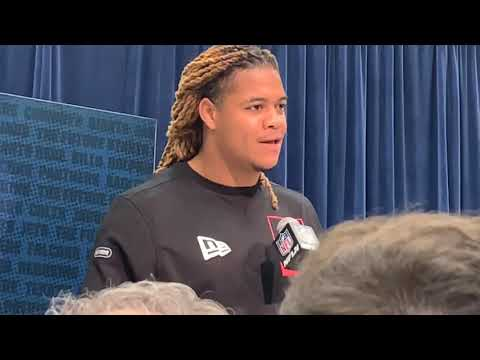 Ohio State's Chase Young Gets LeBron James Level Media For 2020 NFL Combine Interview