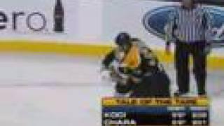 Koci vs Chara Oct 25, 2007