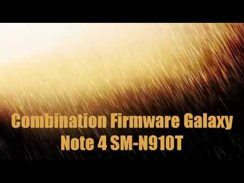 Combination Firmware Galaxy Note 4 SM-N910T