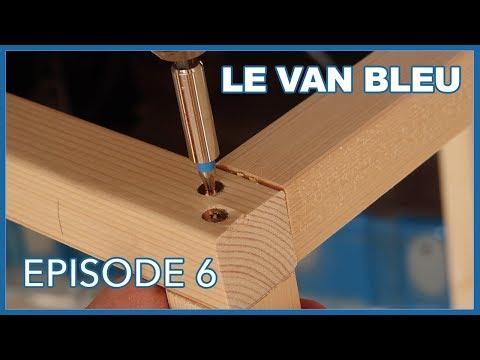 Le Van Bleu Episode 6 Lit Peigne Et Structures Vanlife