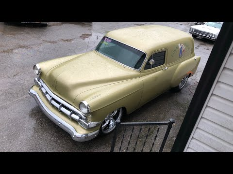 1954 Chevy Panel Wagon SOLD For $19,900 Maple Motors
