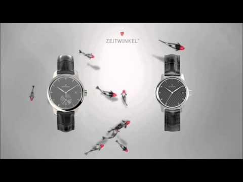 """ZEITWINKEL Watches - exhibition movie """"FISH"""""""