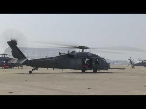 RESQ OPS: U.S. Air Force HH-60G Pave Hawk Rescue Helicopter Assigned With The 55th Rescue Squadron