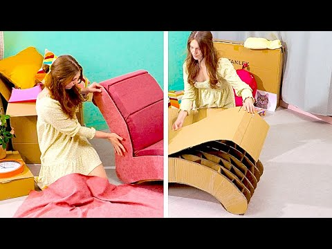 Don't Throw Away Cardboard! Hamster Maze and Fantastic DIY Old Things Recycle Ideas