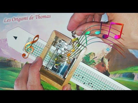 DIY: Play Zelda Music with Paper - Tuto Box Music !
