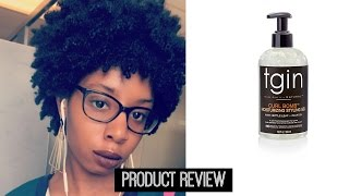 TGIN New BOMB Curling Gel Demo/Review:Yassss Honey Part 2
