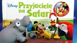 Przyjaciele na Safari - Disney - Hipopotamek Hai - Encyklopedia zwierząt z zabawkami - #7
