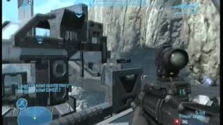 Halo Reach Commentary and Gameplay on the Cage