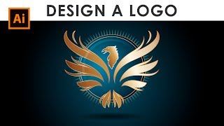 How to Design a Wings Logo - Illustrator Tutorial