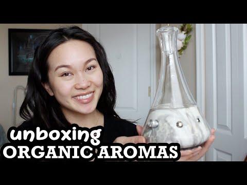 essential-oil-diffuser-unboxing-|-organic-aromas-|-raven-wynn