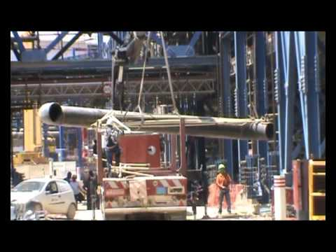 WORKS At The HELLENIC PETROLEUM ELEFSIS REFINERY.