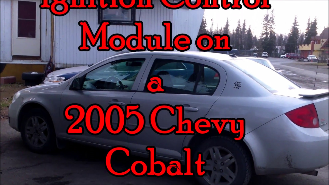 05 Chevy Cobalt Rough Idle Low Fuel Mileage Fix