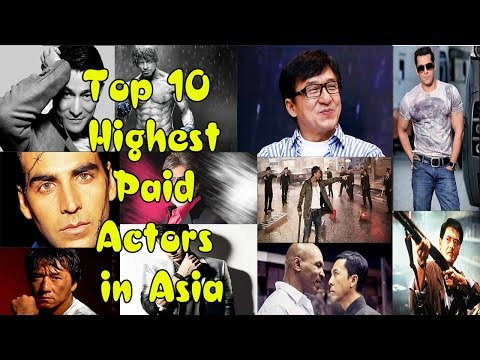 Top 10 Highest Paid Actors In Asia | List back