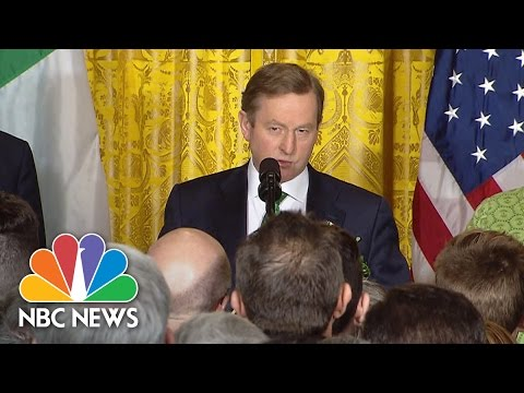 Irish PM Enda Kenny Reminds U.S. St. Patrick