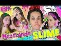 Mezclando Mi Colección De Slime 🔮 Mezclo Todos Mis Slimes Para Hacer El Mejo