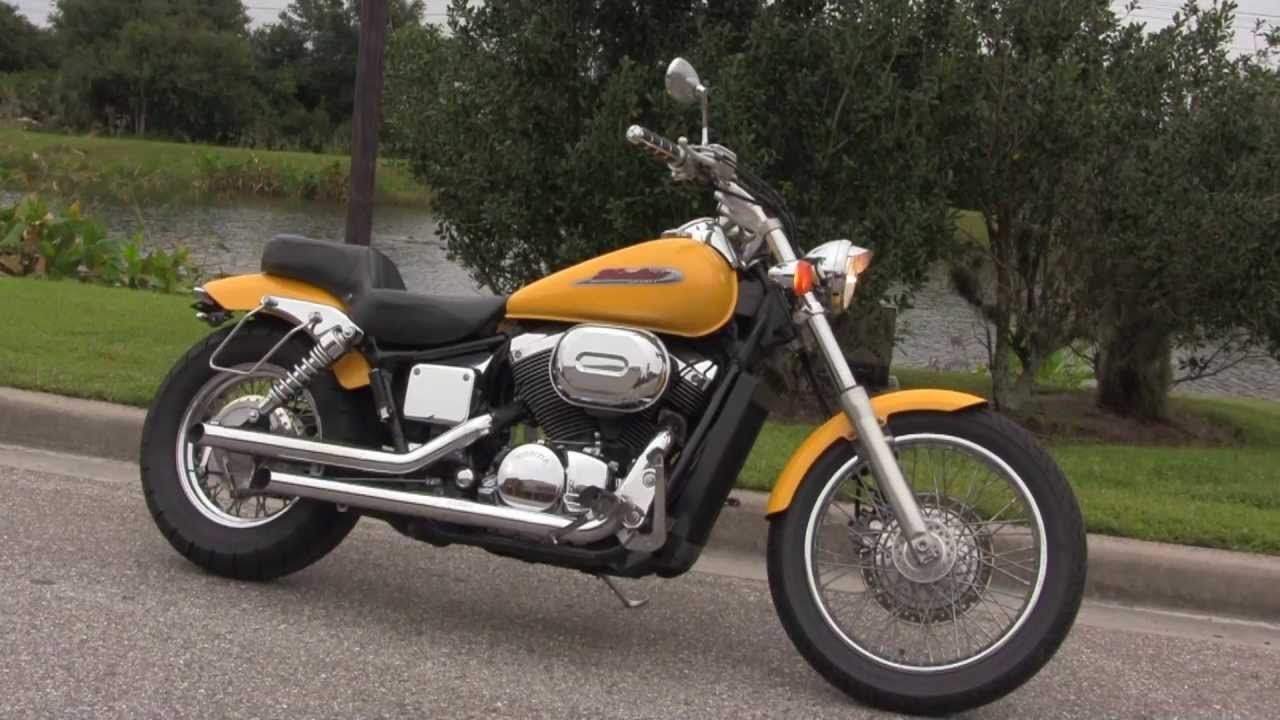Used 2002 Honda Shadow Spirit VT750DC Motorcycle For Sale   YouTube