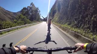 PERU: Downhill biking thru the mountains/jungle GOPRO HD