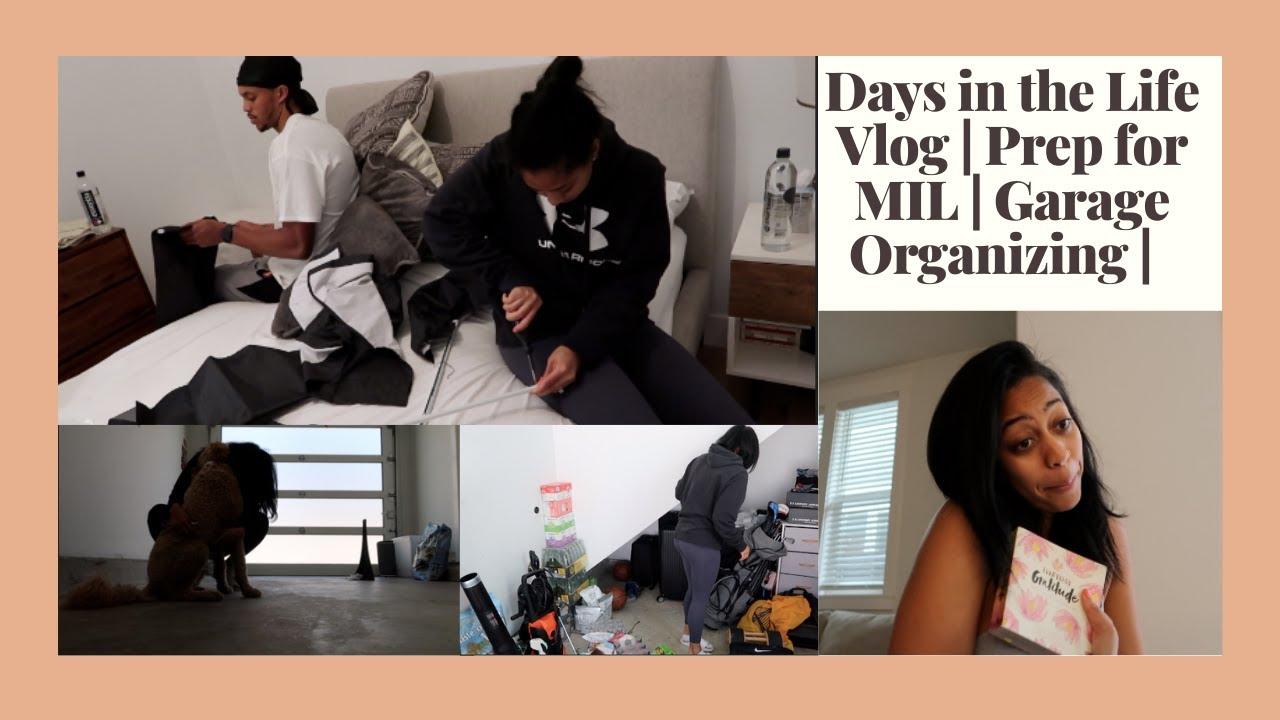 DITL Vlog | Garage Organizing| Mother-in-law Prep | Sydel Curry Lee