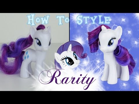 my pony hair styling mlp rarity hair styling tutorial how to style rarity 1080