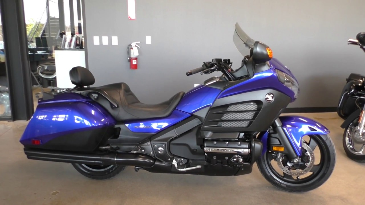 200015 2015 Honda Gold Wing F6B DELUXE Used motorcycles for sale on