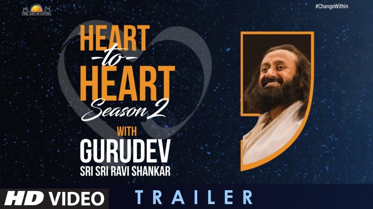 Heart To Heart Anand L Rai,Divya Khosla,Arjun Kapoor In Conversation With Gurudev Sri SriRaviShankar