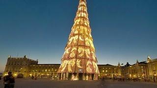 Weihnachtsbaum Lissabon 2005