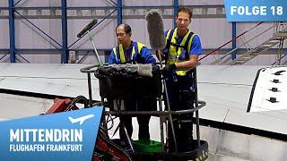 Wie werden Flugzeuge gewaschen?   Mittendrin - Flughafen Frankfurt (18)
