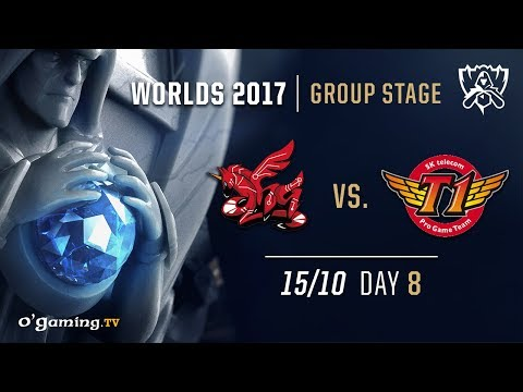 ahq vs SKT T1 - World Championship 2017 - Group Stage - Day 8 - League of Legends