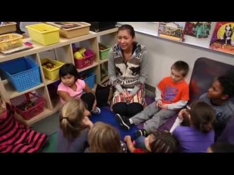 """Quil Ceda Tulalip Elementary School students sing """"Happy Birthday"""" in the Lushootseed language"""
