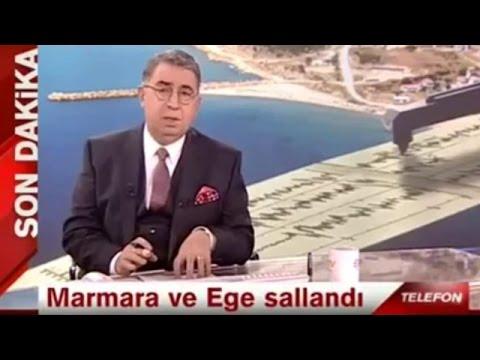 Canlı Yayında Depremi Bildi