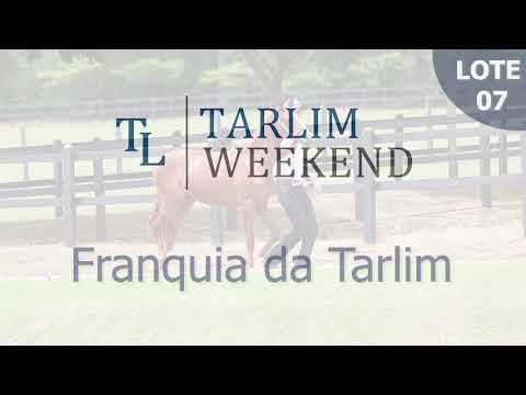 Lote 07 - Franquia da Tarlim (6º Leilão Tarlim)