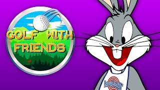 BASKETBALL GOLF!   Golf With Your Friends #15 (ft. Gorilla & Dracula)