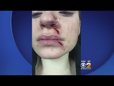 Woman Slashed In NYC