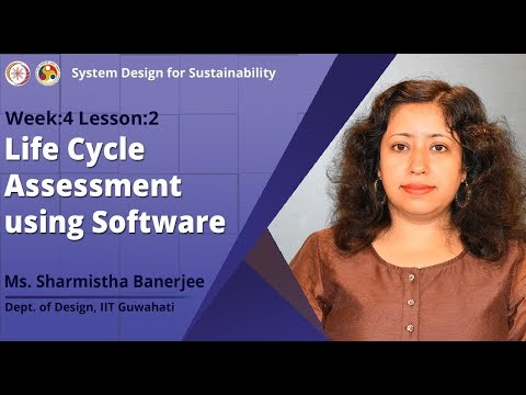 Life Cycle Assessment Using Software