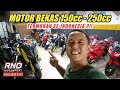UPDATE STOK MOTOR BEKAS DI RND MOTOSPORT