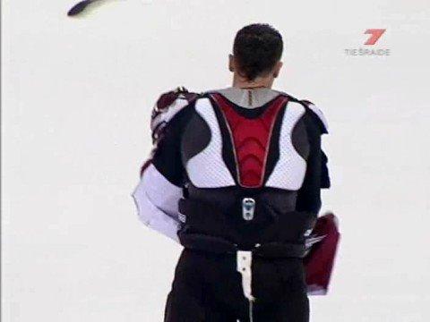 Dinamo Riga - Lokomotiv Jaroslavl brawl