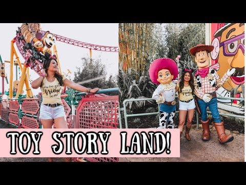 TOY STORY LAND AT DISNEY WORLD!
