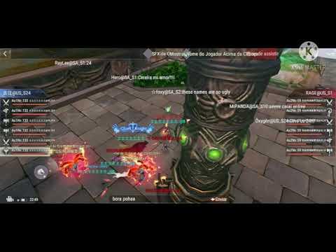 PW Mobile - War Of Gods - AlphaOmega Team VS HEMA and RAGE |