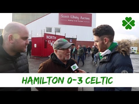 Hamilton 0-3 Celtic | Full time Reaction