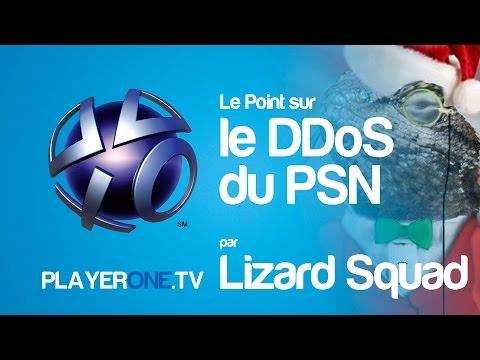 Reportage - Le Point sur le DDoS du PSN par Lizard Squad