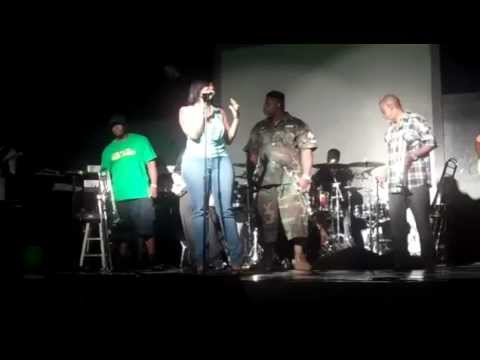Floetry Say Yes cover by B.DeVINE w/Live Band