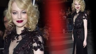 Emma Stone Abandons her Good Girl Look for Gucci Goth!