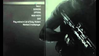 Enable Dedicated Servers and use Custom Classes on Modern Warfare 3 PC