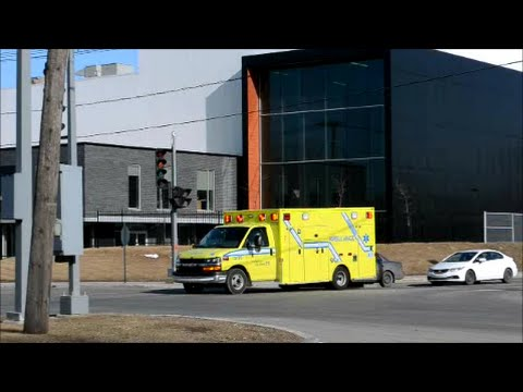 MONTREAL AMBULANCE RESPONDING IN LASALLE